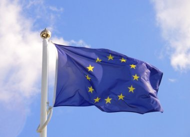 European Union flag stock vector