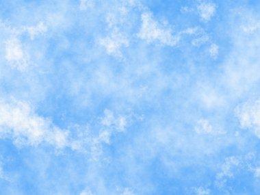 Blue sky seamless pattern