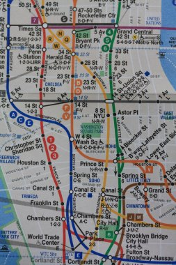 New York subway map