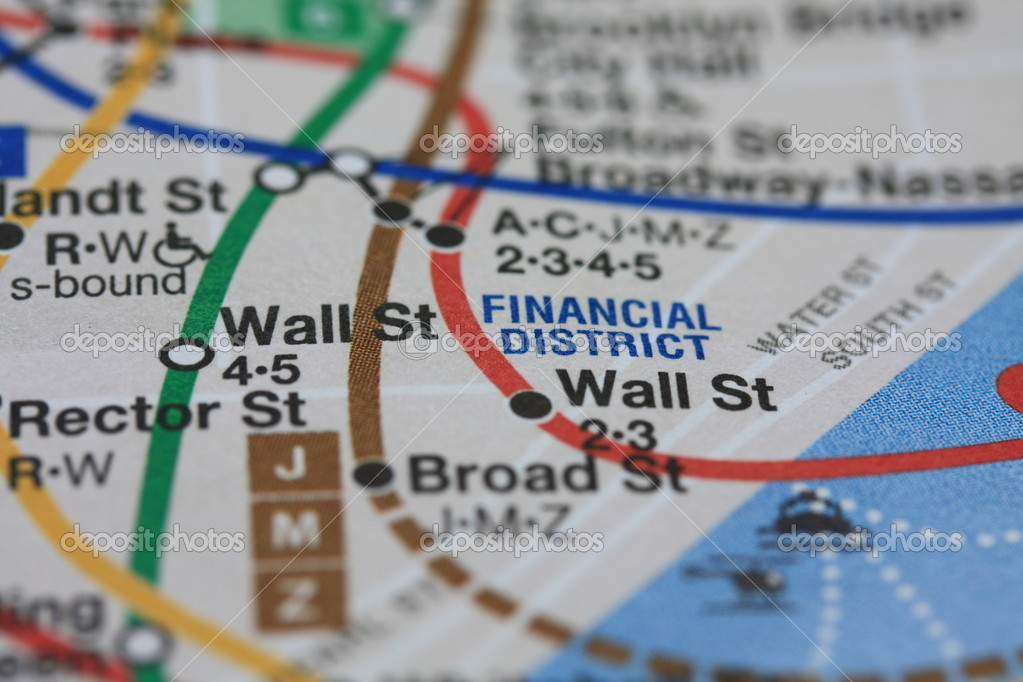 New York subway map — Stock Photo © portosabbia #1706035