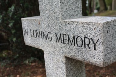 Grave ornament - In loving memory