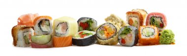 Japanese maki mix rolls assorted