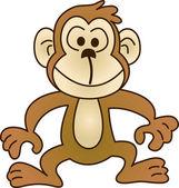 Fotografia scimmia divertente - illustrazione immagine