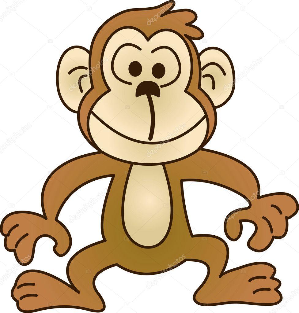 e1413778693 legrační opice - Ilustrační foto — Stock Vektor © Ragnarocks  1795084