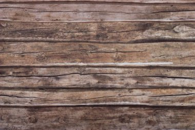 Close-up old dark wood texture