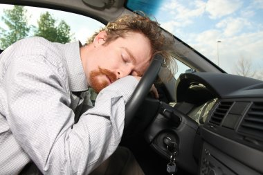 Tired driver