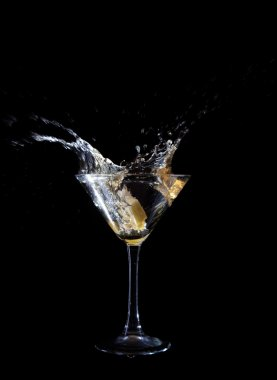 Martini wine glass
