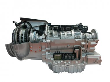 Heavy truck engine transmission