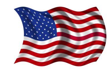 National Flag USA stock vector