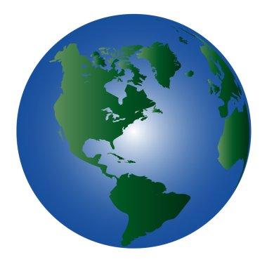 Globe - world 1