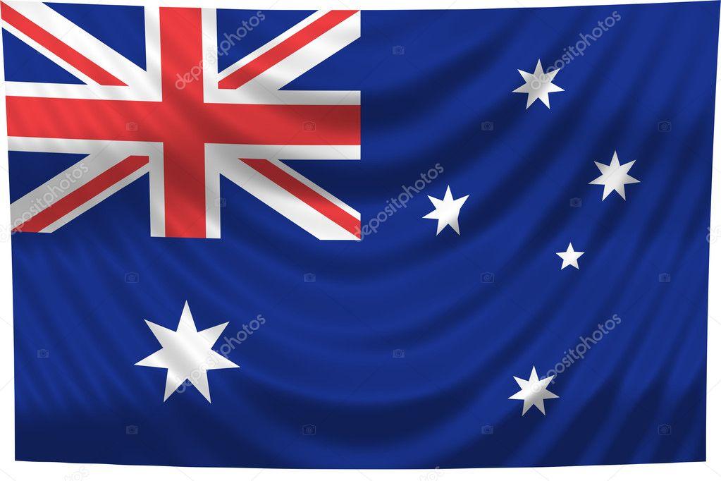 nationalen flagge australien stockfoto pdesign 1649350. Black Bedroom Furniture Sets. Home Design Ideas