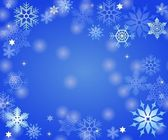 astratto di cristalli di ghiaccio