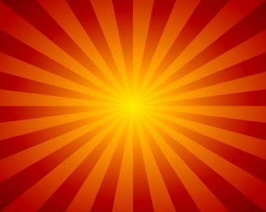Abstract background red beams