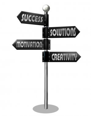 Business Motivation Directory Sign
