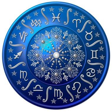Zodiac Disc blue