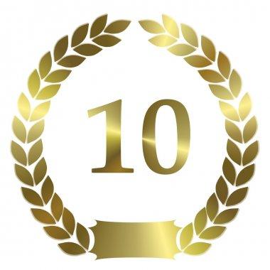 Laurel Wreath 10