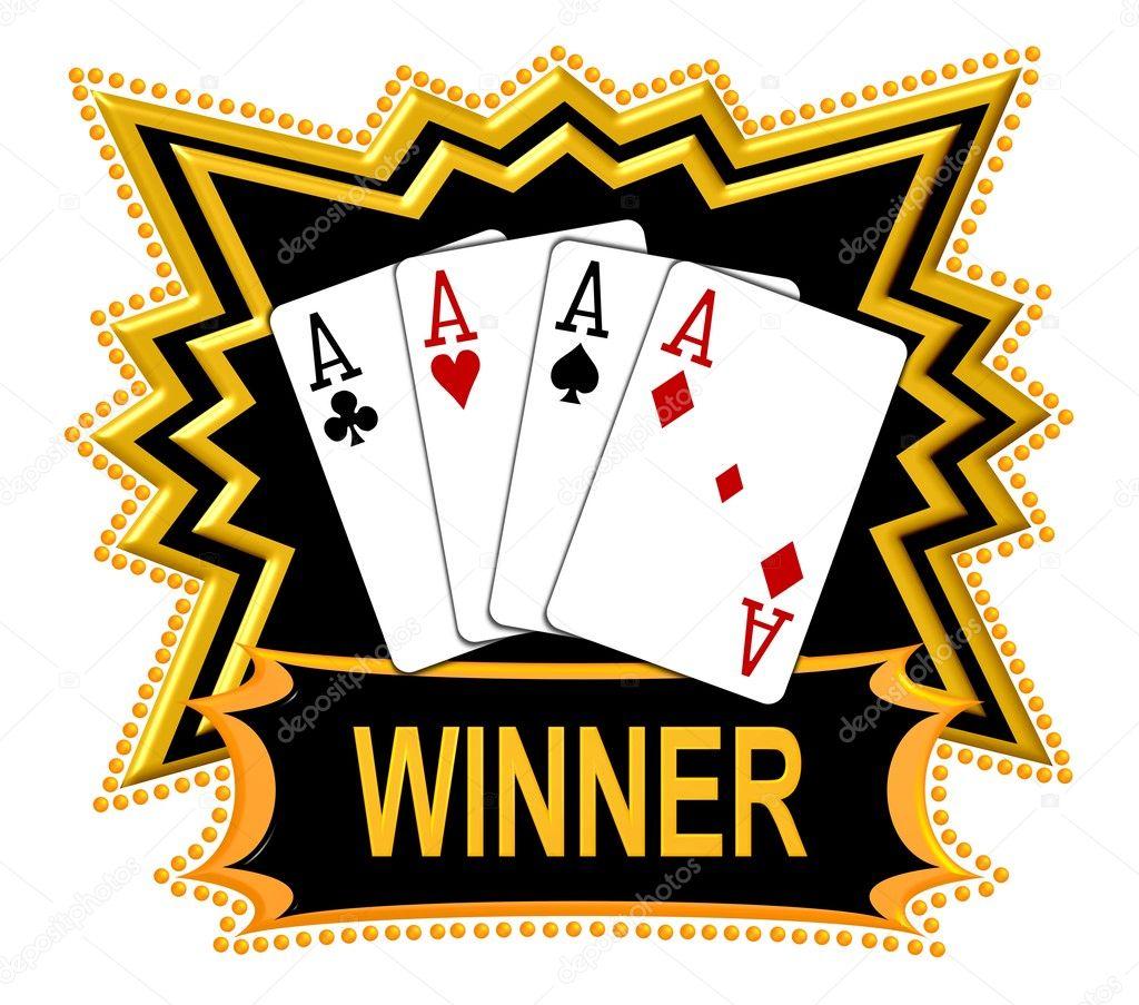 Quad Aces are the Winner