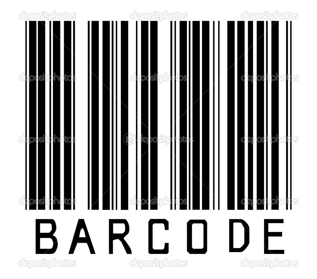 Barcode symbol — Stock Photo