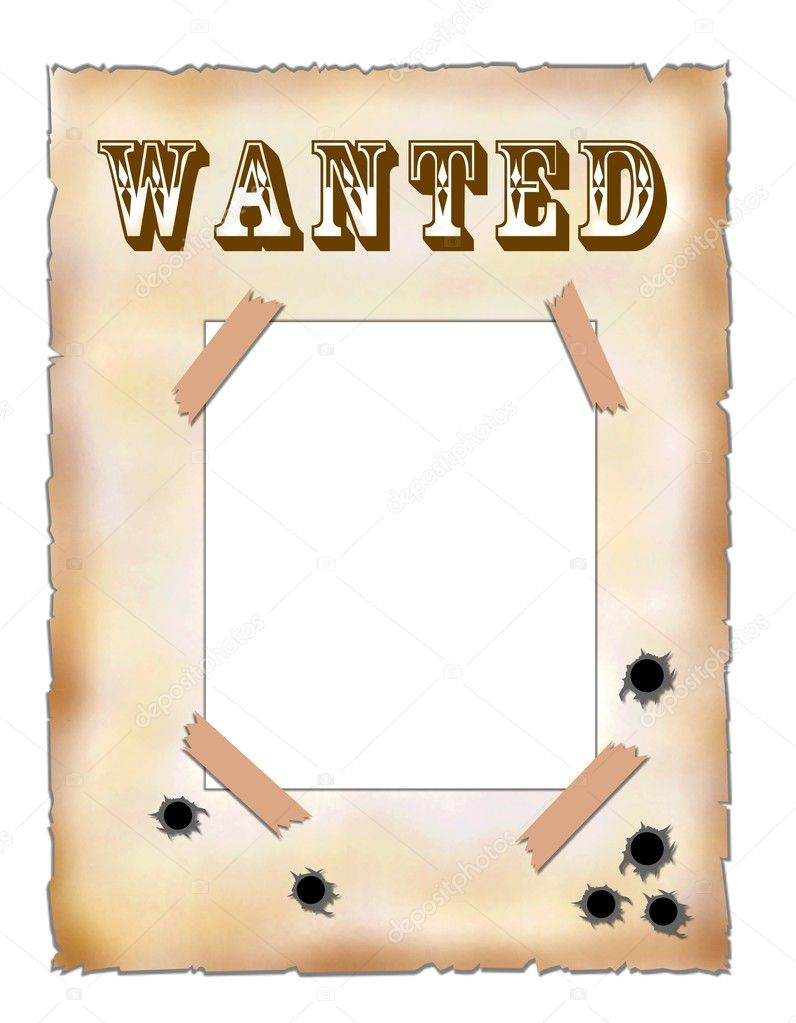 Affiche Wanted Vierge