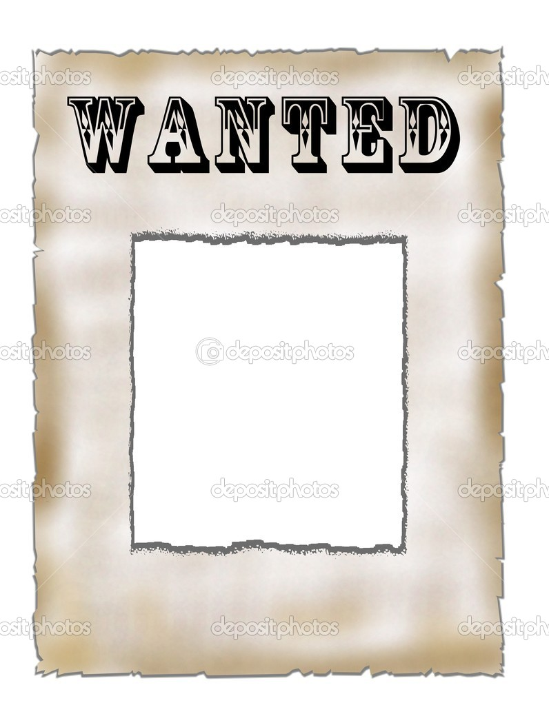 Blank Wanted Poster Stock Photo 169 Pdesign 1765624
