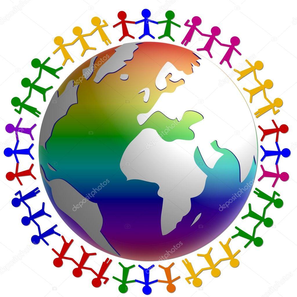 Extrêmement paix dans le monde entier — Photo #1781567 YU65
