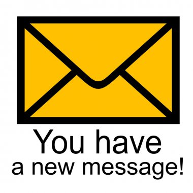 You have a new message