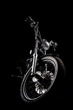 Chopper in a dark