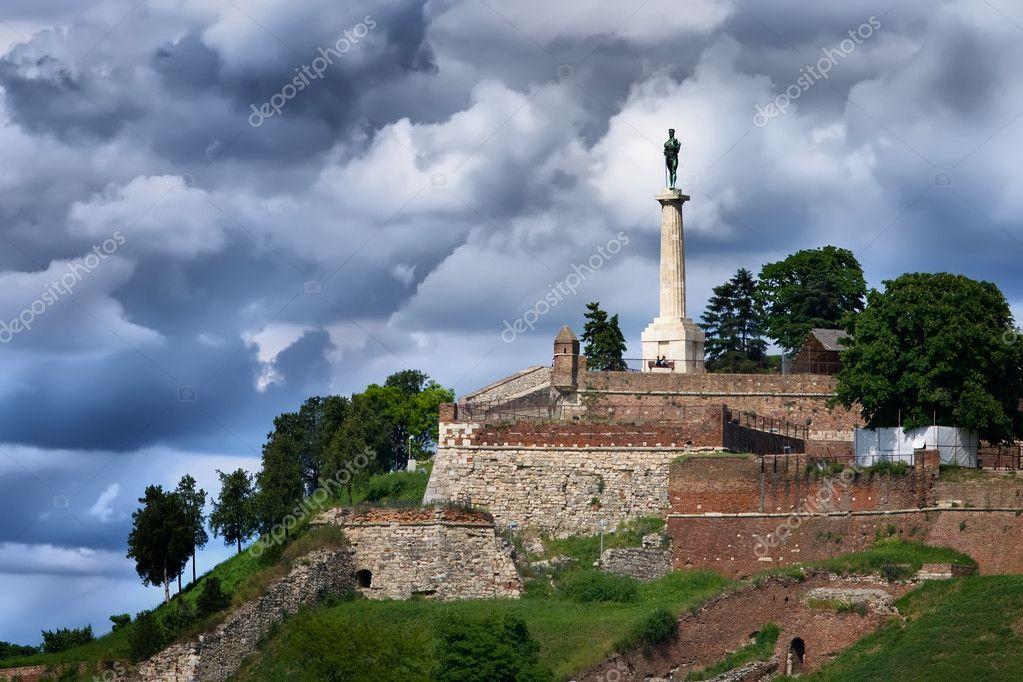 Βελιγράδι - φρούριο kalemegdan — Φωτογραφία Αρχείου