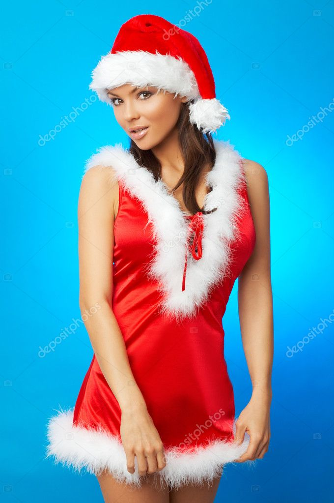 Santas Wife Stock Photo C Dashek 1958461