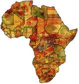 stará vlajka Afriky