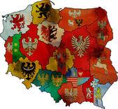 Administration poland map