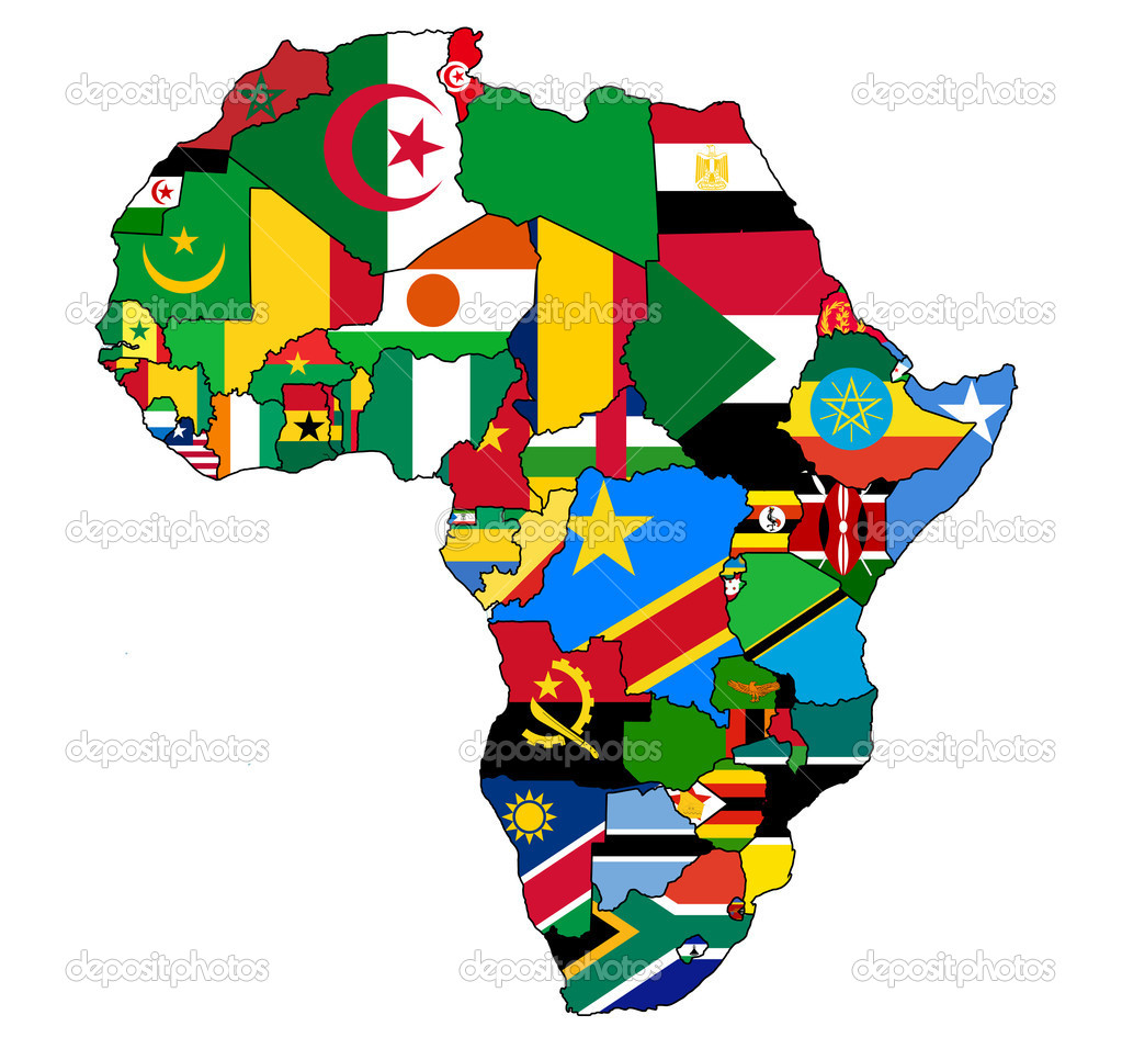 African Country Flags