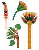 Egyptian ornaments vector