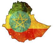 Fotografie Ethiopia map
