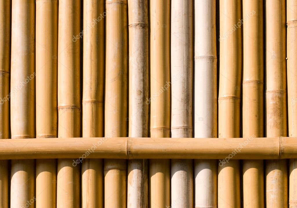 Bamboo texture, architecture decoration