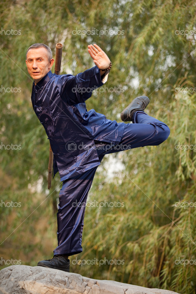 Wushu man