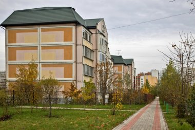 Settlement on the outskirts of Moscow