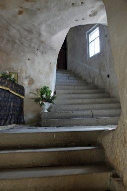Inkerman. A monastery is in a rock