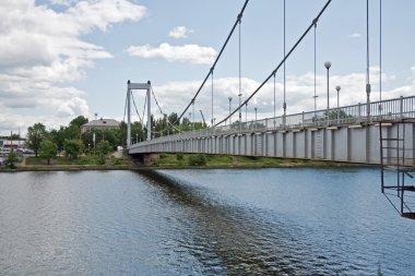 Bridge across the river Sura
