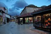 Fényképek Szarajevó óvárosában