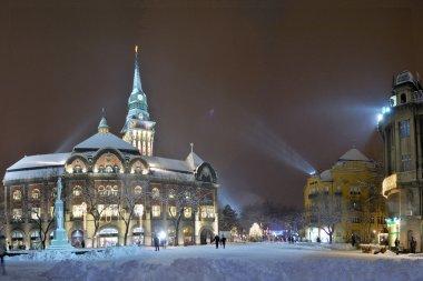 City center -Subotica, Serbia