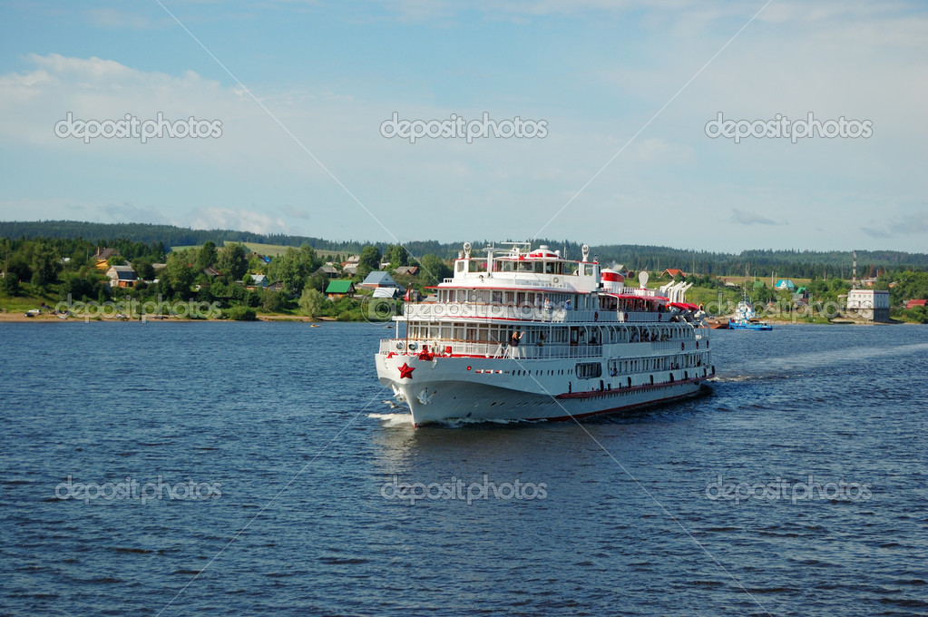 Фотообои White river cruise boat