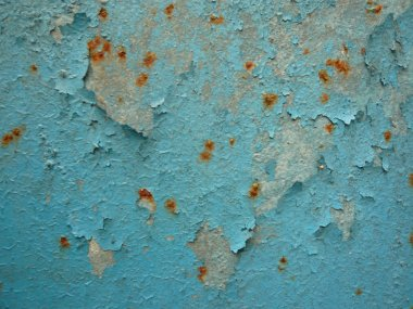 Paint and rust texture