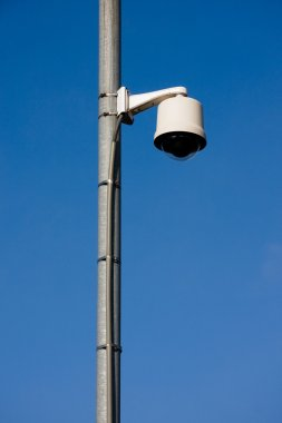 Security camera over street