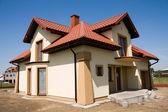 Fotografie unvollständige kleine weiße Haus