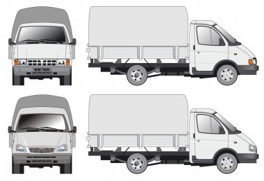 Delivery / cargo truck