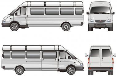 Stretch passenger mini-bus