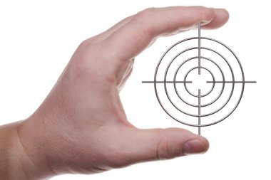 Hand with target 2