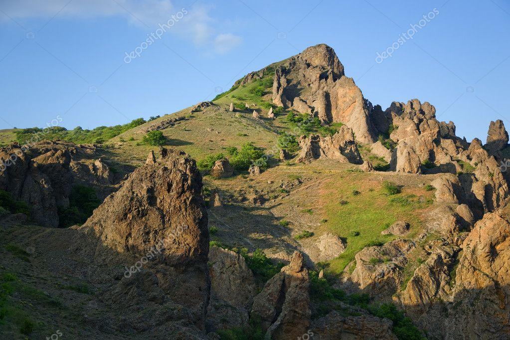Crimea, Rocks