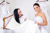 Fényképek választott a esküvői ruha